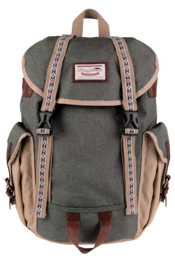 aabd2b9e9b2 Doughnut Backpack Σακίδιο πλάτης Woodland Small Bo-He Special Army x Beige  D109-4811