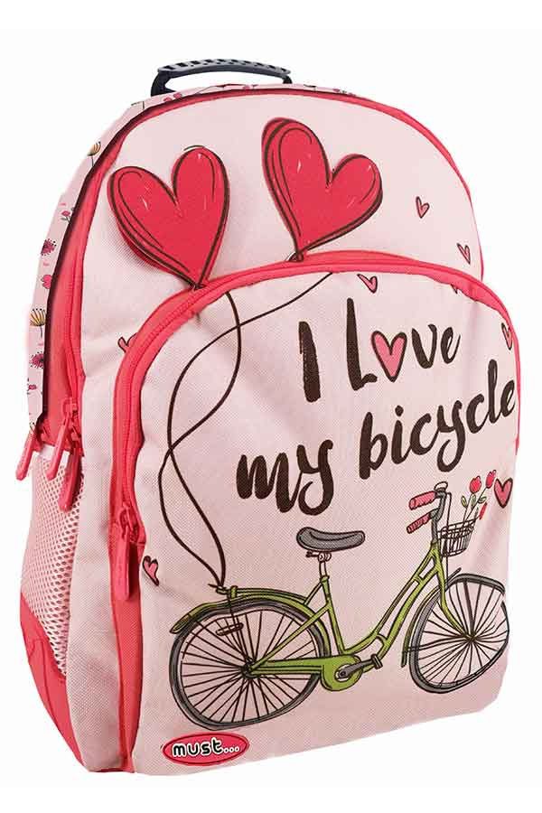 ea68481727 must Σακίδιο BACKPACK Energy I love my bicycle 000579510 ...