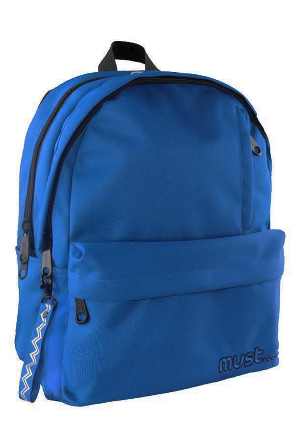 Σακίδιο πολυθεσιακό must BACKPACK  Monochrome Rpet μπλε  000579737