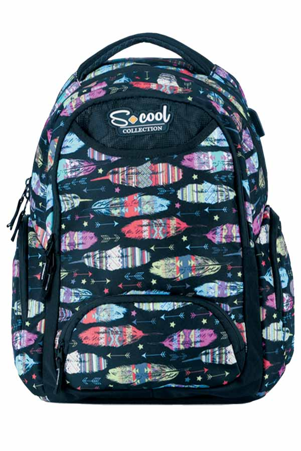 S.COOL BACKPACK Σακίδιο πλάτης BE YOURSELF SC.552