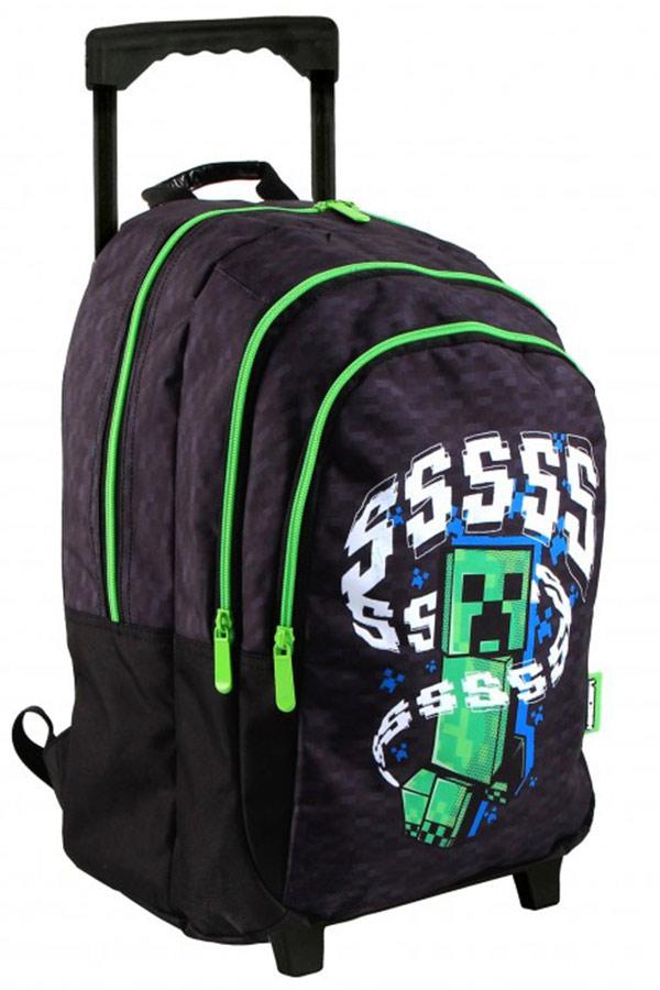 Σχολική τσάντα τρόλεϊ Minecraft Graffiti 218251