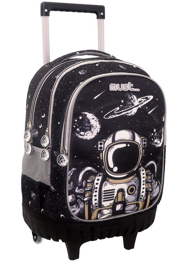 Σχολική τσάντα τρόλεϊ must Glow in the dark Αστροναύτης 000584010