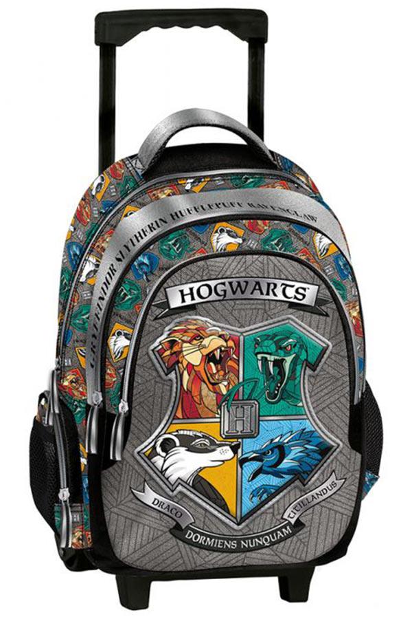 Σχολική τσάντα τρόλεϊ Harry Potter Hogwarts Graffiti 214251