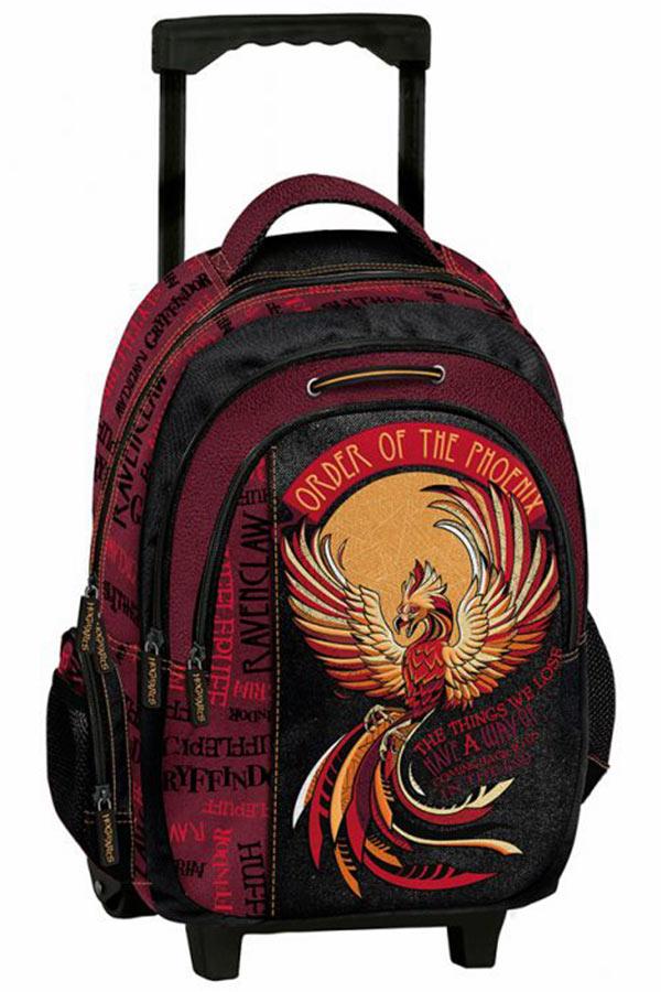 Σχολική τσάντα τρόλεϊ Harry Potter Phoenix Graffiti 214252