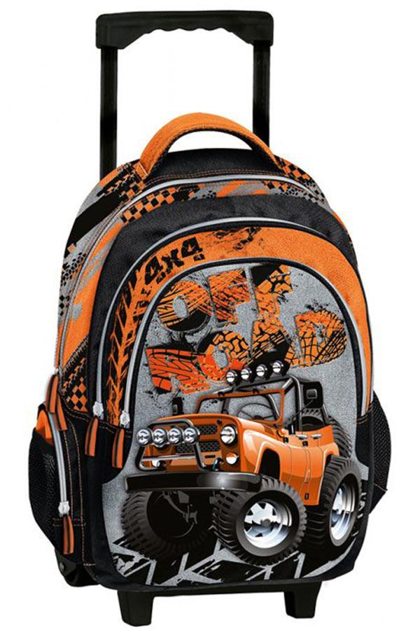 Σχολική τσάντα τρόλεϊ Truck Graffiti 211252