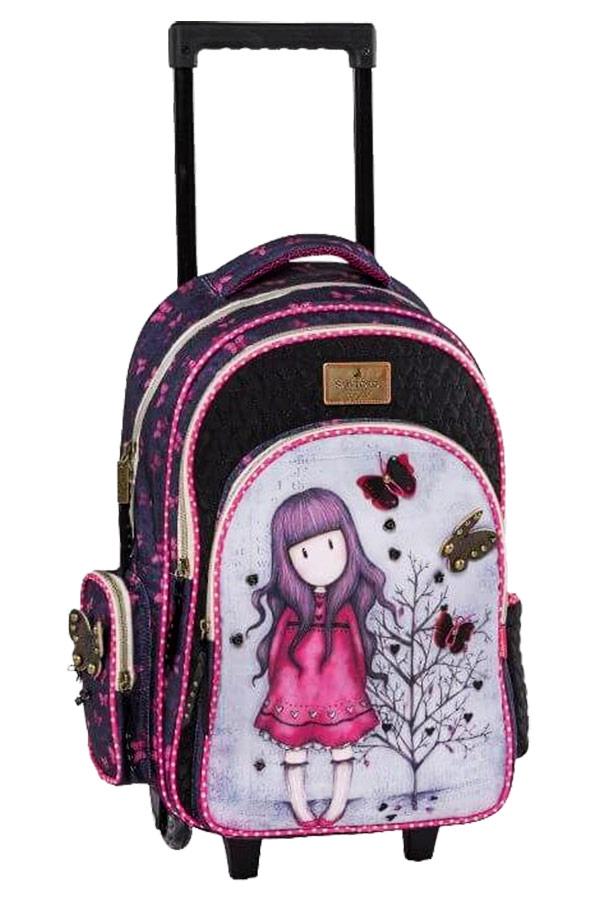 Santoro gorjuss Σχολική τσάντα τρόλεϊ - Love grows Graffiti 187252