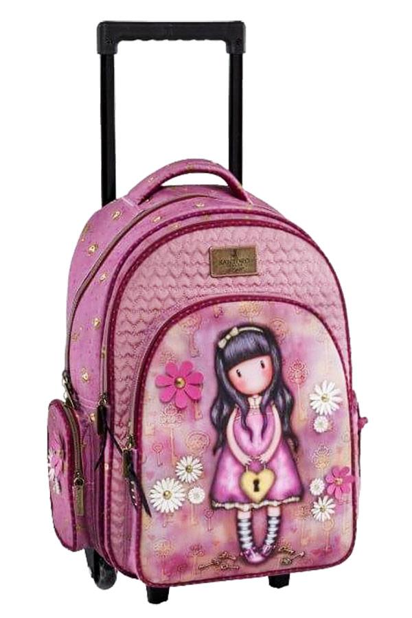 Santoro gorjuss Σχολική τσάντα τρόλεϊ - The secret Graffiti 187254