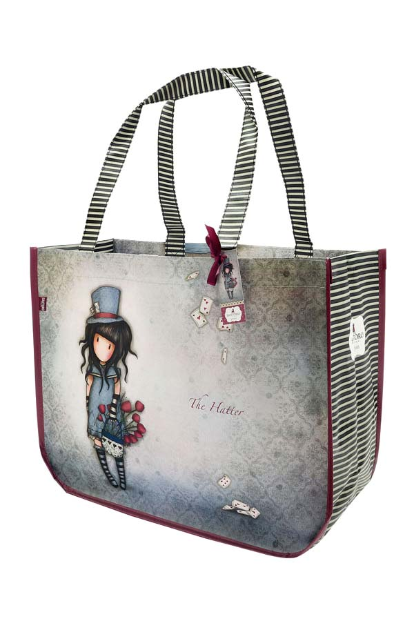 Τσάντα Shopping bag Santoro gorjuss - The hatter 253GJ09