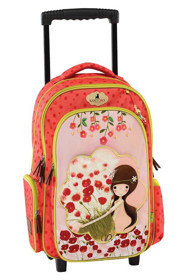 a20bfe68d8 Σχολική τσάντα τρόλεϊ Santoro Kori Kumi - Flower Graffiti 177751