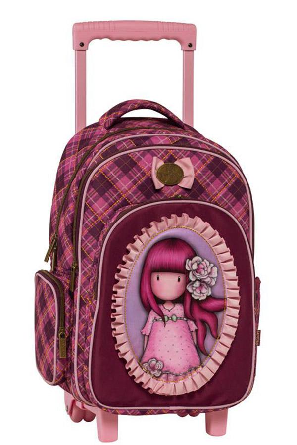 Santoro gorjuss Σχολική τσάντα τρόλεϊ - Cherry blossom Graffiti 217252