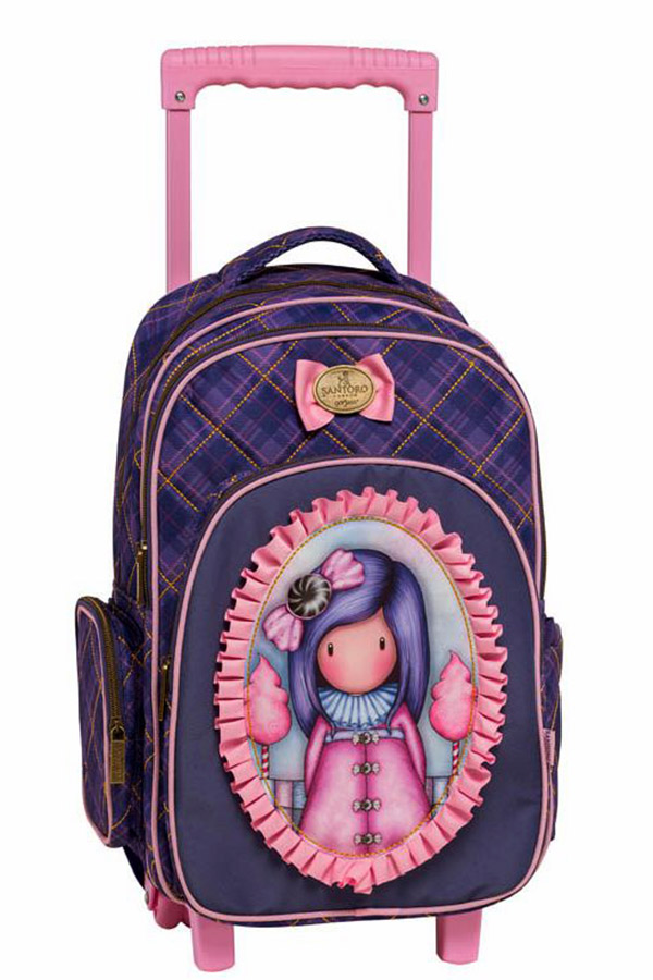 Santoro gorjuss Σχολική τσάντα τρόλεϊ - Sugar plum Graffiti 217253