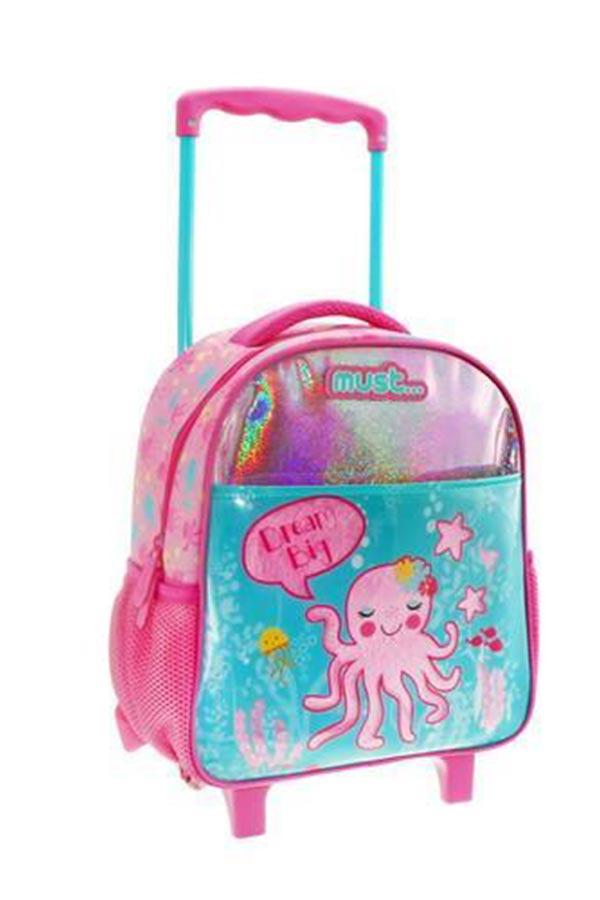 must Σακίδιο νηπιαγωγείου τρόλεϊ Octopus 000579709