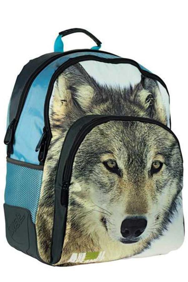 Σακίδιο πολυθεσιακό must Animal Planet λύκος 0570632
