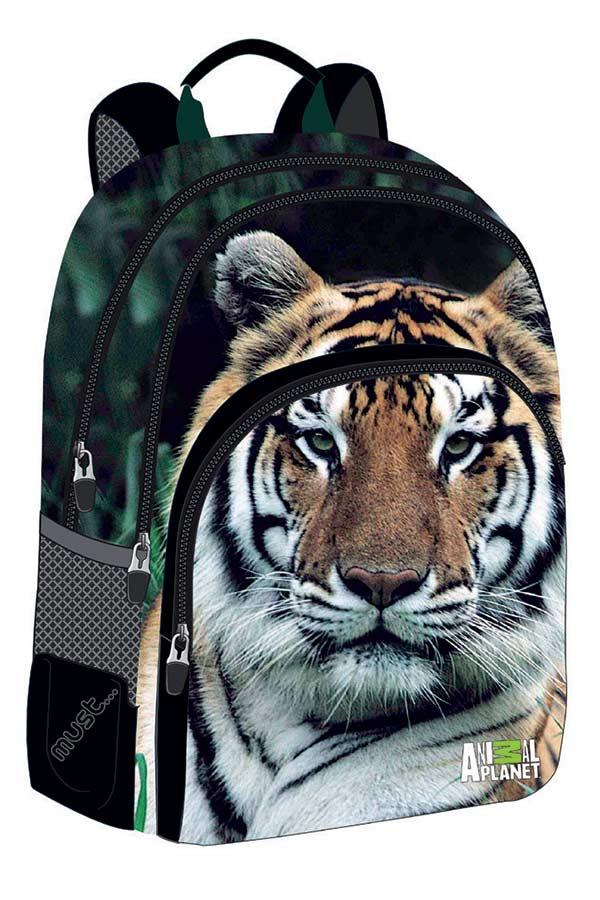 Σακίδιο πολυθεσιακό must Animal Planet τίγρης 0570630