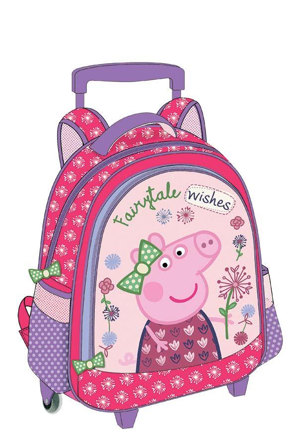 8176c09ff8e Σακίδιο νηπιαγωγείου τρόλεϊ Peppa pig Fairytale wishes 0482244