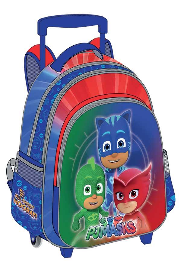 Σχολική τσάντα τρόλεϊ PJMASKS 0484050