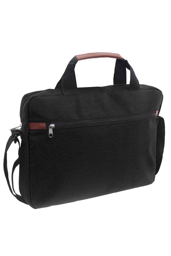 Τσάντα laptop 15 inches μαύρη Mood 000580195
