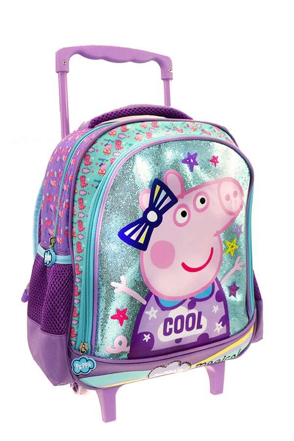 Σακίδιο νηπιαγωγείου τρόλεϊ Peppa pig COOL 000482424