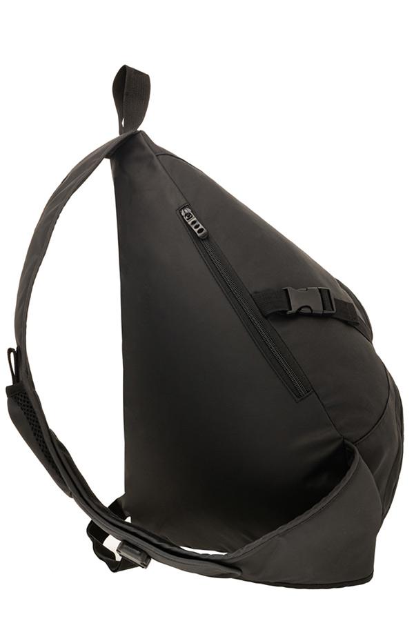 Tricross Σακίδιο χιαστί POLO SHOULDER BAG CROSSWIDE μαύρο 9079602000