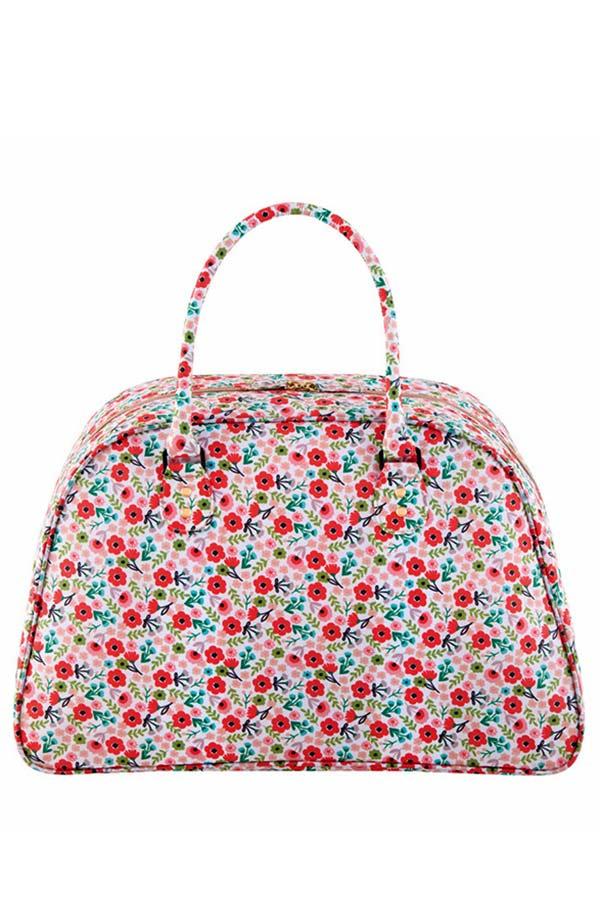 Τσάντα ταξιδίου Liberty Ροζ λουλούδια Derriere La Porte D060-P112645