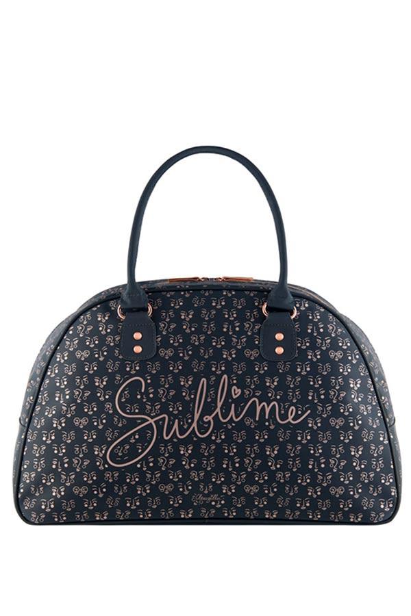 Τσάντα ταξιδίου Sublime γκρι Derriere La Porte D060-N052015
