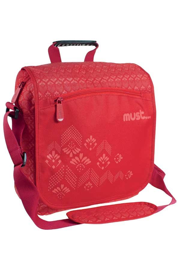Τσάντα ταχυδρόμου must Superior κόκκινη 0579328