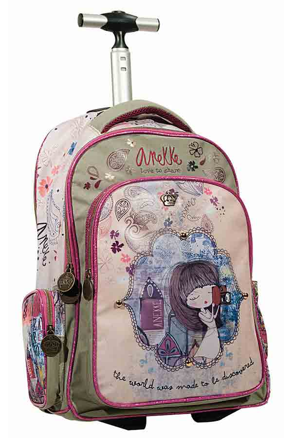 Anekke Σχολική τσάντα τρόλεϊ India Back me up 346-97074