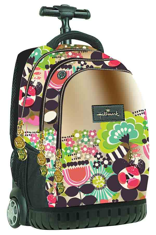 BACK ME up Σχολική τσάντα τρόλεϊ Hallmark 333-03074