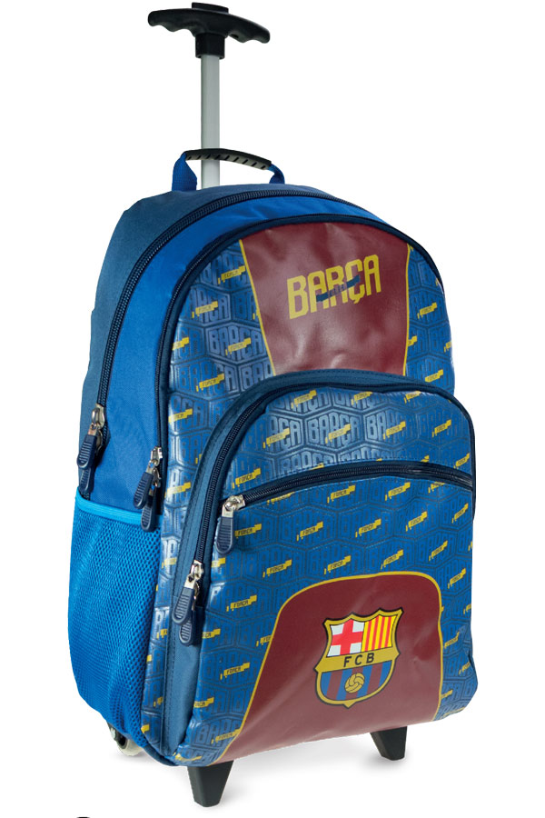 2d99c7b0a69 Σχολική τσάντα τρόλεϊ FC Barcelona 000170642 ...