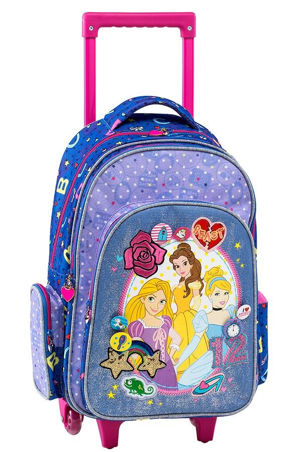 98733d1bd6 Σχολική τσάντα τρόλεϊ Multi Princess Graffiti 181252