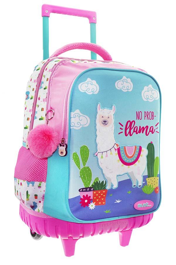7186bb53de must Σχολική τσάντα τρόλεϊ Llama 0579543 ...