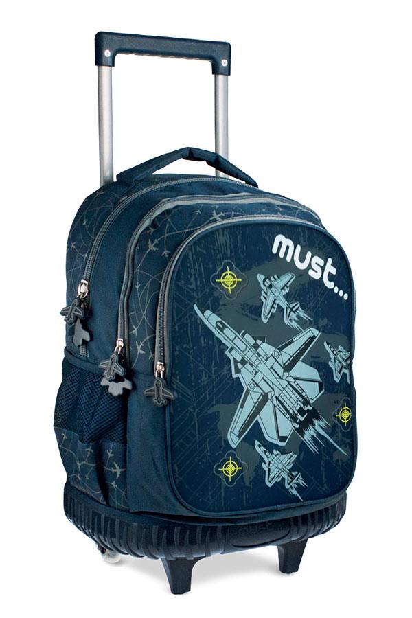 Σχολική τσάντα τρόλεϊ must Steps Airplane 0579275