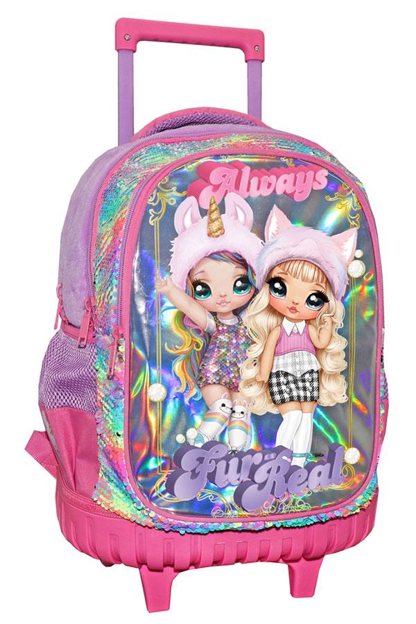 Σχολική τσάντα τρόλεϊ Na!Na!Na! Surprise Always Fur-Real 000503416