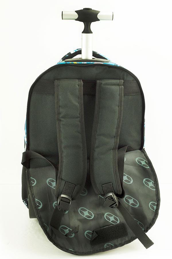 NO FEAR Σχολική τσάντα τρόλεϊ Goal Time 347-84074