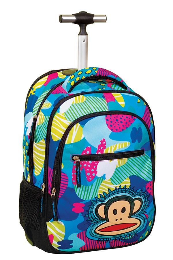 Paul Frank Σχολική τσάντα τρόλεϊ jungle 346-52074
