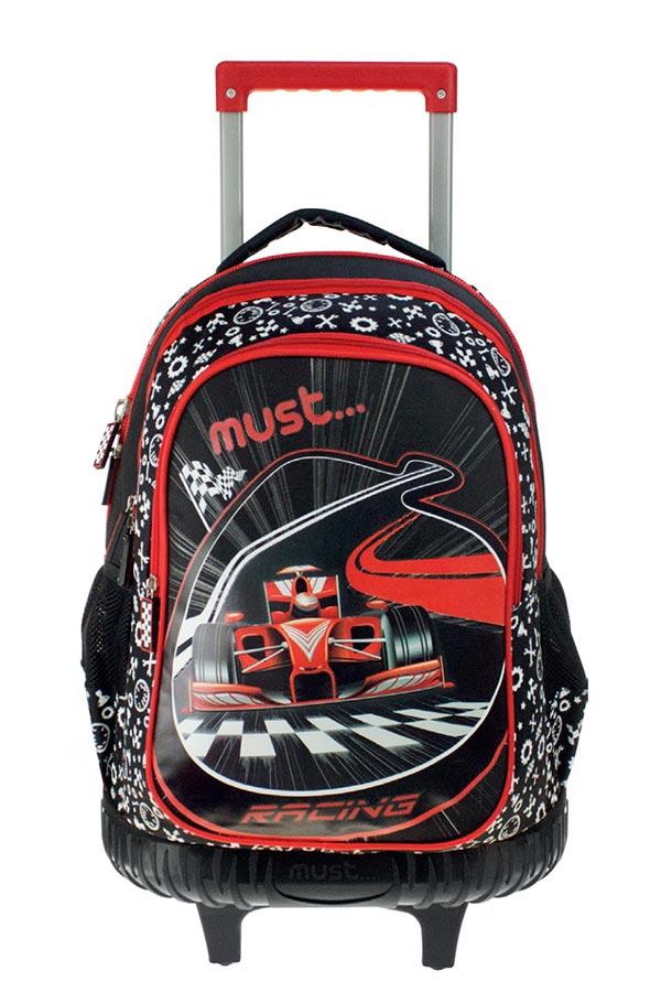 Σχολική τσάντα τρόλεϊ must Steps Cars 0579357