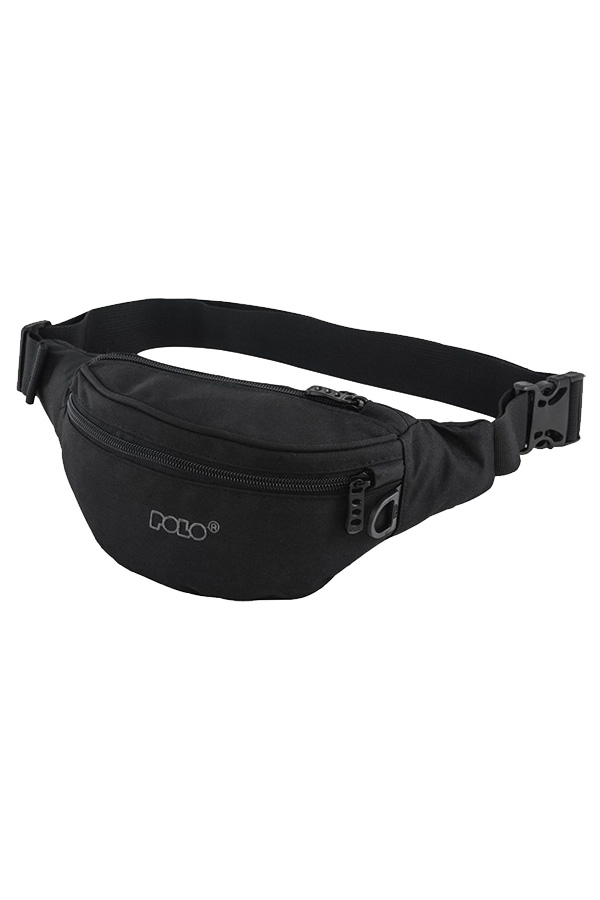 Τσαντάκι μέσης POLO WAIST BAG CORD μαύρο 90802902