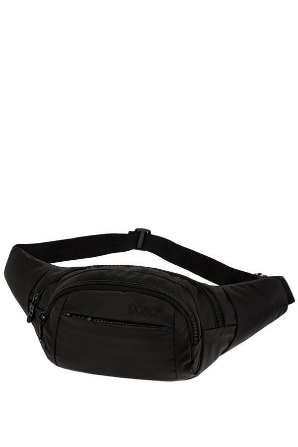Τσαντάκι μέσης POLO WAIST BAG DENVER μαύρο 9080012001
