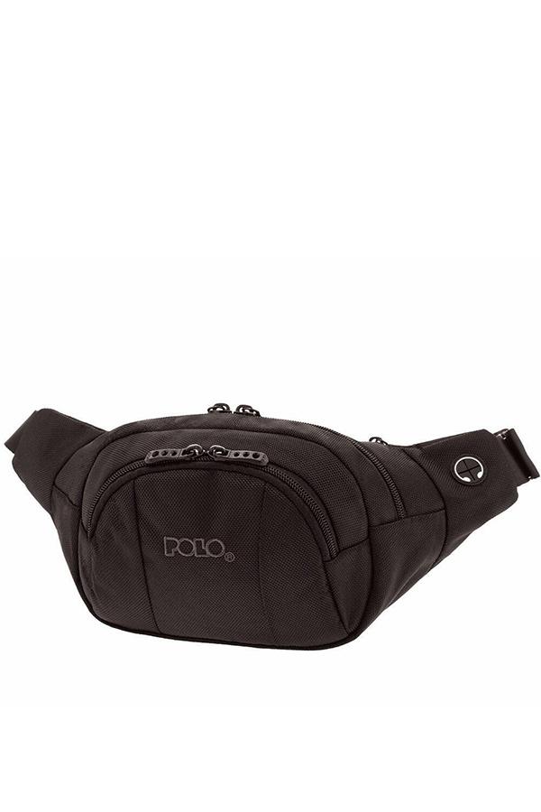 Τσαντάκι μέσης POLO WAIST BAG SPECTRUM μαύρο 9088802000