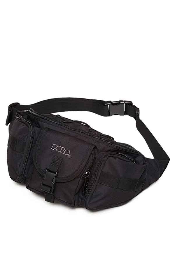 Τσαντάκι μέσης POLO WAIST BAG TACTICAL μαύρο 90801202