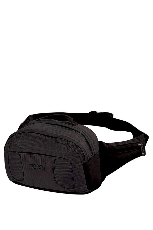 Τσαντάκι μέσης POLO WAIST BAG SUPREME μαύρο 9080022000