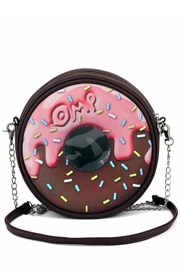 Τσάντα ώμου donut oh my POP choconut 38714