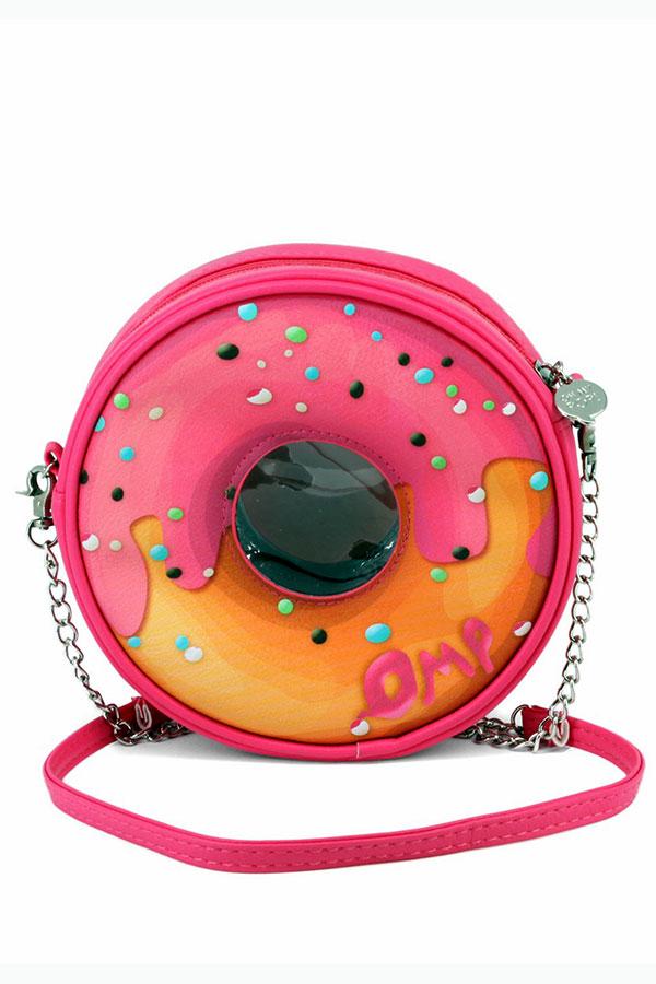 Τσάντα ώμου donut oh my POP pinknut 38708