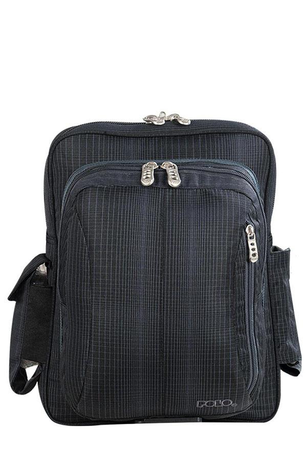 Τσαντάκι ώμου POLO SHOULDER BAG REBEL LARGE μαύρο 90713502