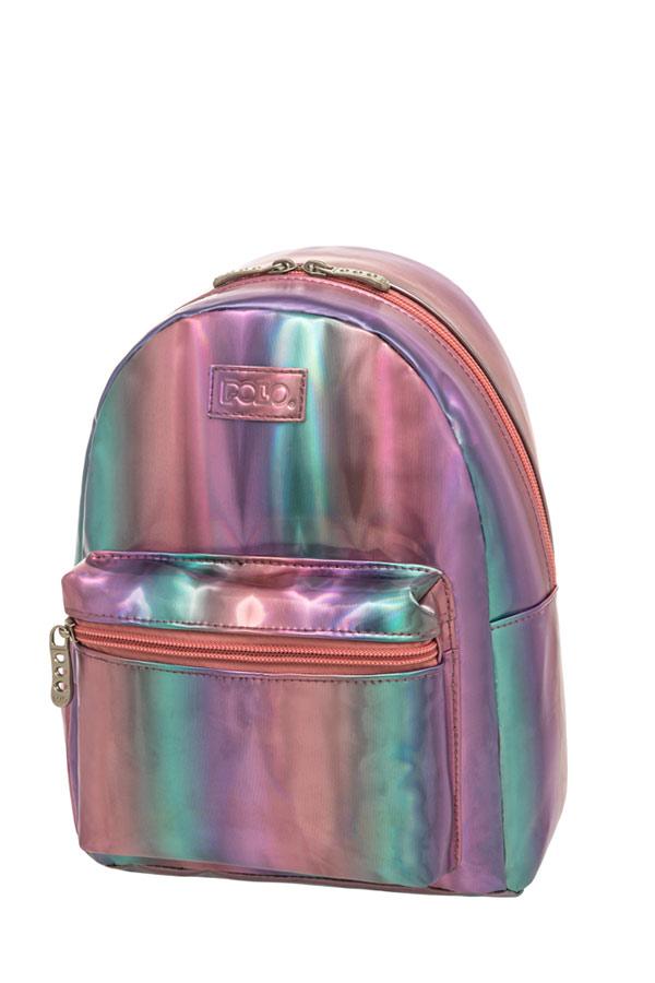 Σακίδιο mini POLO MINI QUEENA ιριδίζον 9071598075