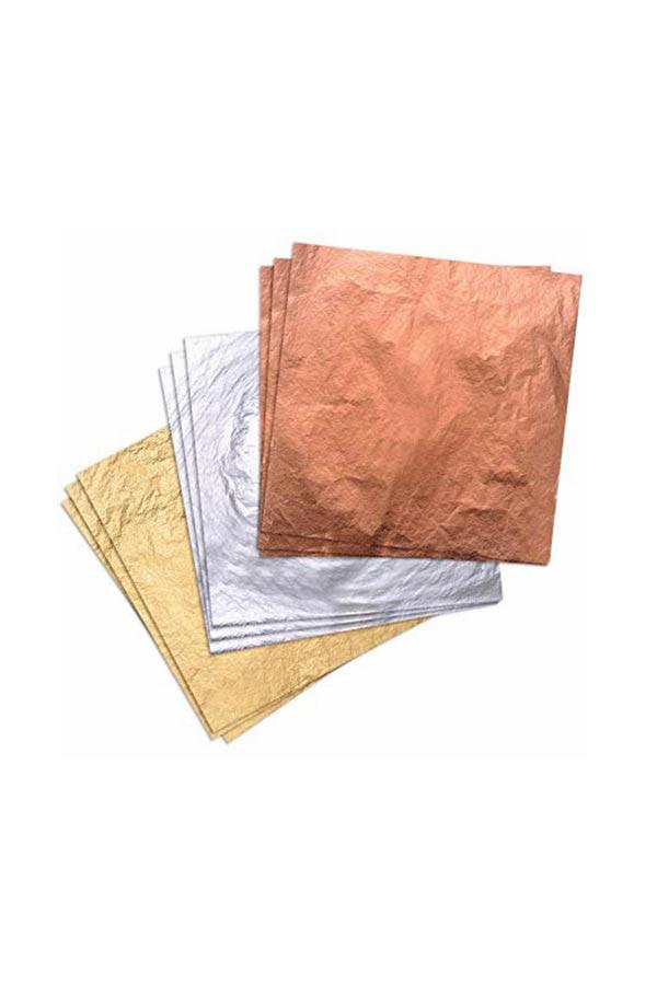 Φύλλα χαλκού 25 τεμ. 14x14 cm Buonarroti SH015603