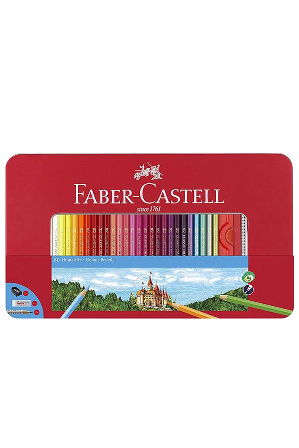 Ξυλομπογιές ζωγραφικής 60 χρωμάτων FABER CASTELL 115894
