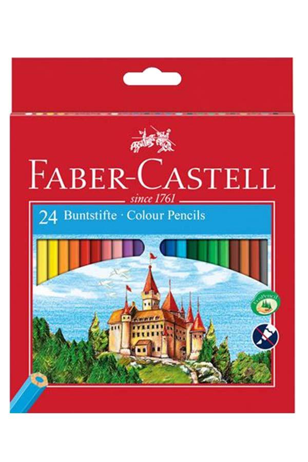 Ξυλομπογιές ζωγραφικής 24 χρωμάτων FABER CASTELL 120124