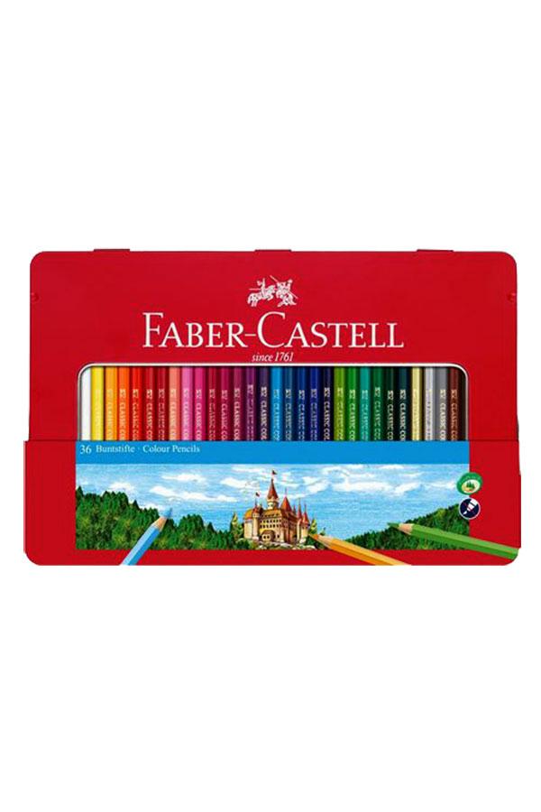 Ξυλομπογιές ζωγραφικής 36 χρωμάτων FABER CASTELL 115886