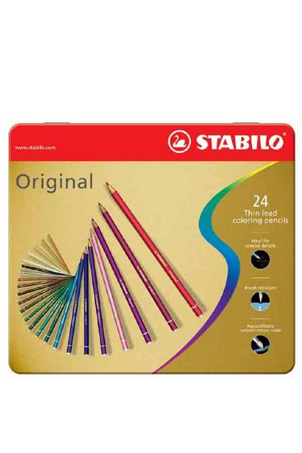 Ξυλομπογιές ζωγραφικής STABILO Original 24 χρωμάτων 8774-6
